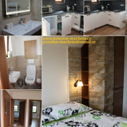 Apartmány interiér