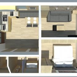 Plánek apartmánů